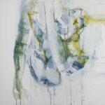 100  x 80 cm. Graphite and charcoal. Linen canvas